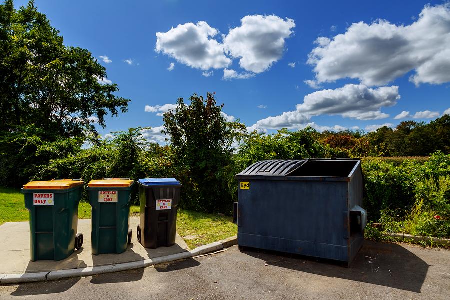 trash bins for residential